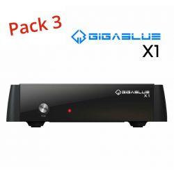 Receptor satelite Gigablue HD X1 DVB-S2 750MHz Enigma2