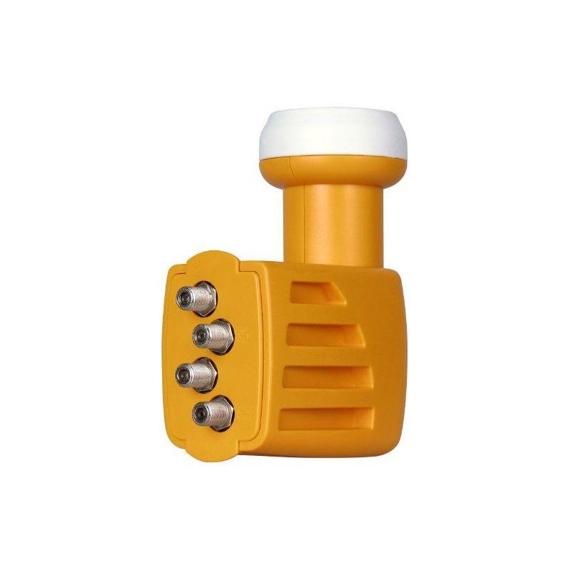 Convertisseur QUAD LNB universelle H / V-H / V-H / V-H / V offset corne