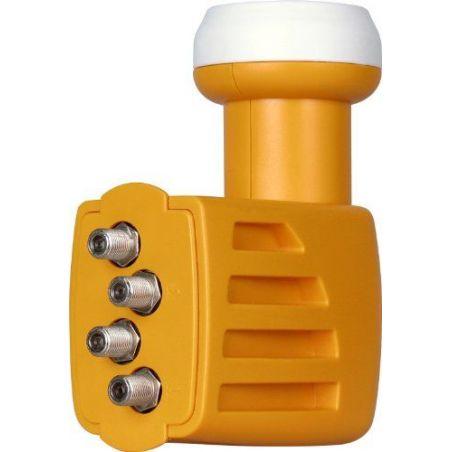 QUAD LNB converter universal H / V-H / V-H / V-H / V offset horn