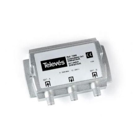 Changeover Switch DiSEqC 2 input / 1 output