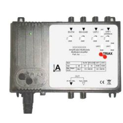 Central 4 entradas/1 salida Triax 45 dB TMA 445