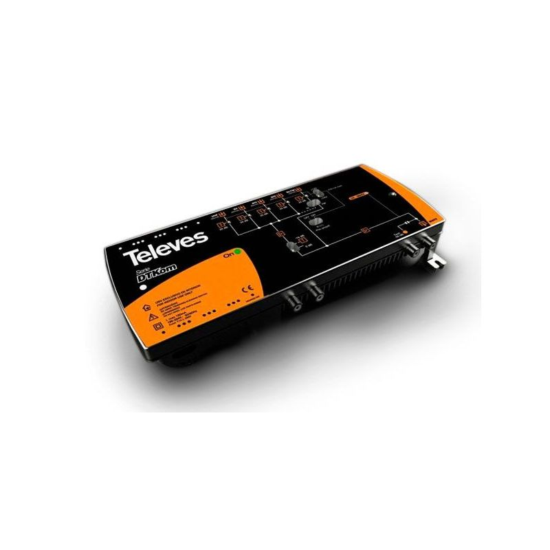 Central amplifier header DTKom Televes