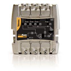 "Amplif. MiniKom 5e/1s ""EasyF"": FM-V-U-21..36-38..60/69 Televes LTE"