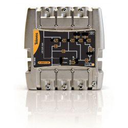 """Amplificateur série MiniKom """"Easy F"""" 5e/1s FM-V-U-21...32-36...60/69 LTE Televes"""