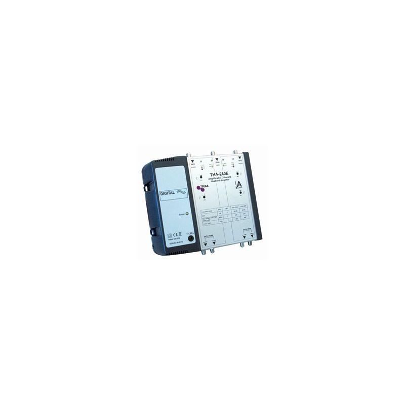 Central ICT Cabecera 3 entradas/2 salidas Triax 42 dB THA 240E
