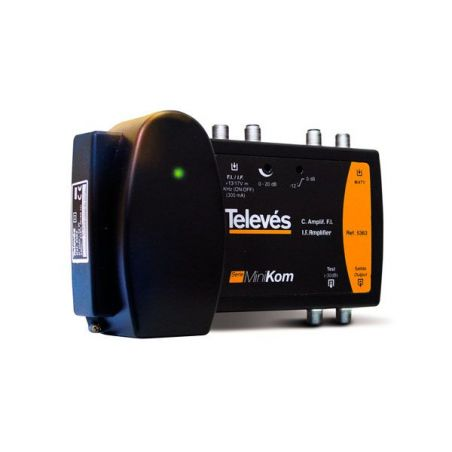Amplificateur multibande 2e/1s SAT/MATV série ''Minikom'' Televes