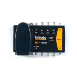 Central Amp. linha (5-860 MHz)+(950-2150 MHz) - Minikom Televes