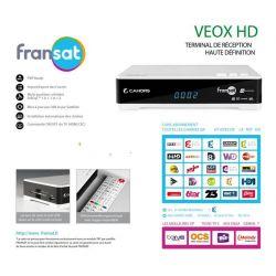 Receptor satelite Cahors(Visiosat) TVS 7800HD TNT Fransat Gratuito Envio Gratis