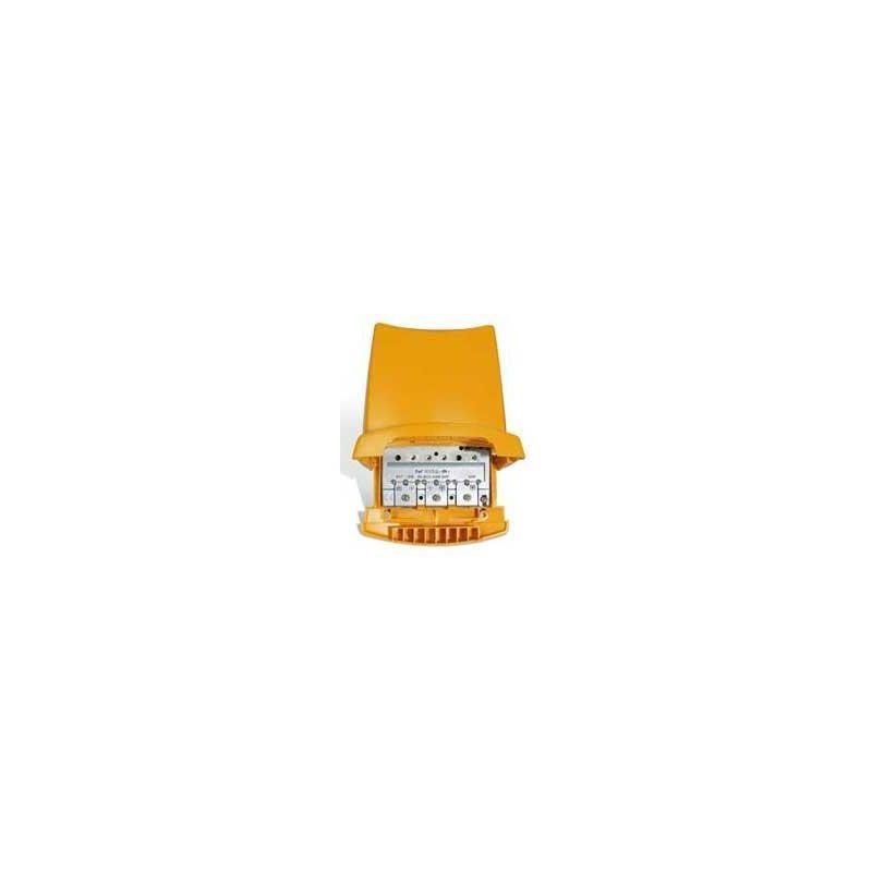 Amplificador de mástil 12V 2E/1S B3/DAB-U-U G25dB Vs1114 LTE Televes