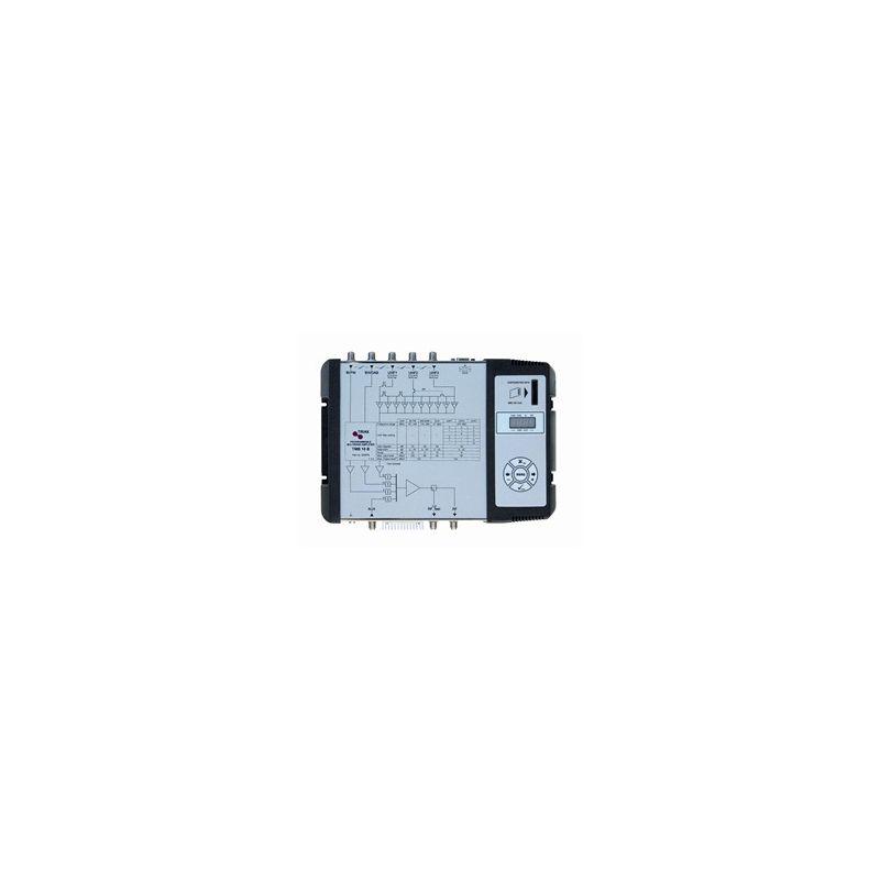 Central Programable 8 entradas/1 salidas Triax 50 dB 6 filtros TMB10S