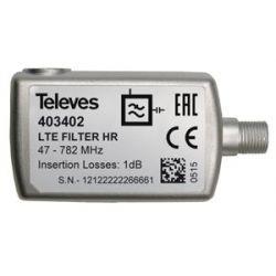 Filtre LTE 5...782MHz (C21-59), intérieur Televes
