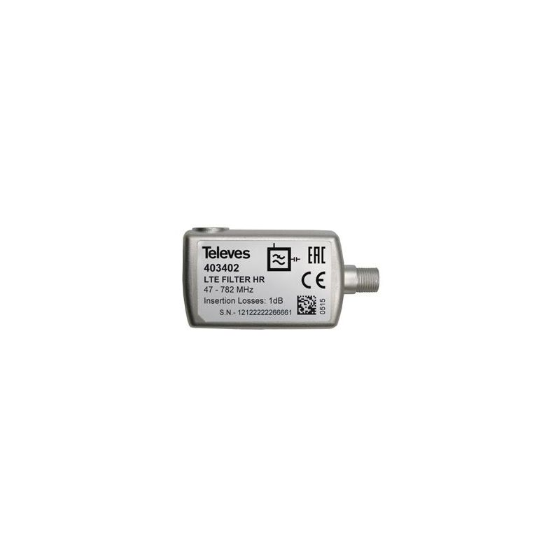 Filtro LTE 5...782MHz (C21-59) Televes
