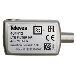 Filtre LTE 5...790MHz (C21-60) sélectif, intérieur - Blister Televes