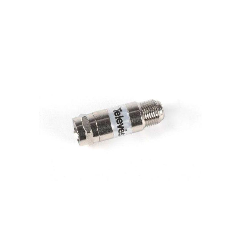 Conector Bloqueador DC tipo F / Televes