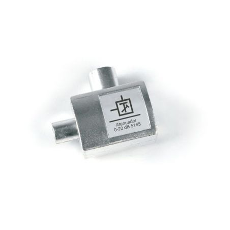 "Adjustable attenuator ""IEC"" M-F [dc] Televes"
