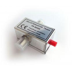 Adjustable attenuator 0-20db, 45-2400MHz (SAT+TERR), 2 F-Female