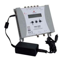 Triax TMB 2000 Central amplificadora programable 4 entradas VHF/UHF + 1FM LTE