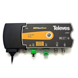 Mini-Noeud F.O. FiberKom CATV OLC (2 fibres) Televes