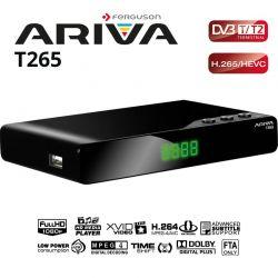 Ferguson Ariva T265 HD TDT2 DVB-T2 1080p H265 HEVC Mediaplayer