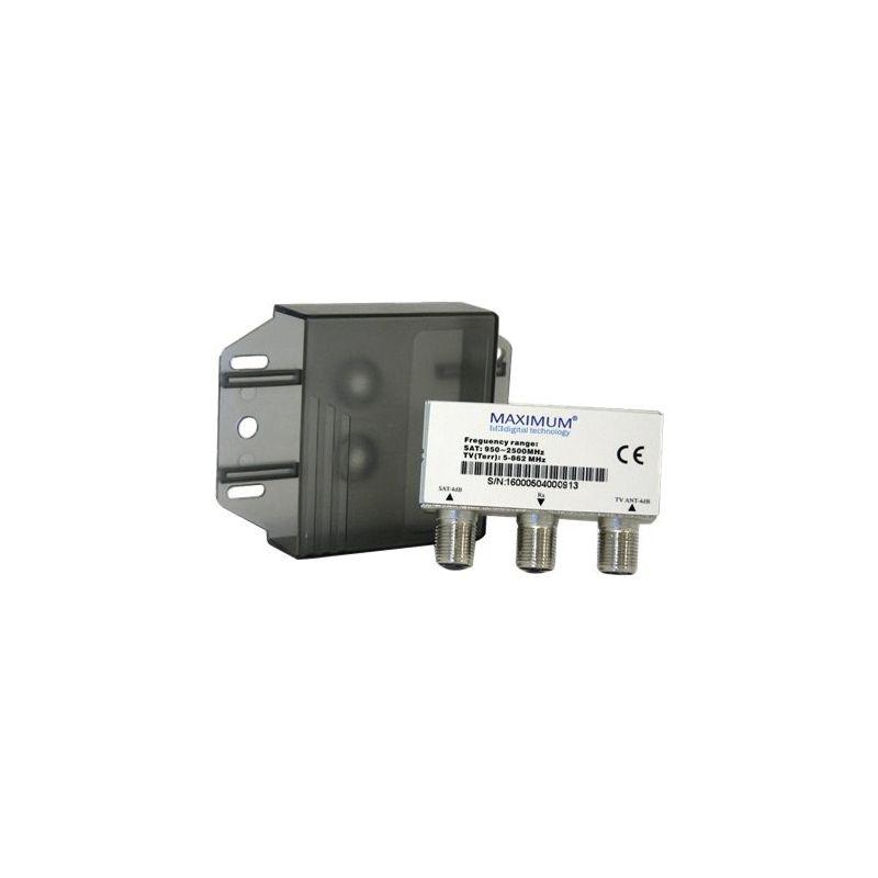 Mezclador/Separador SAT-TDT digiality