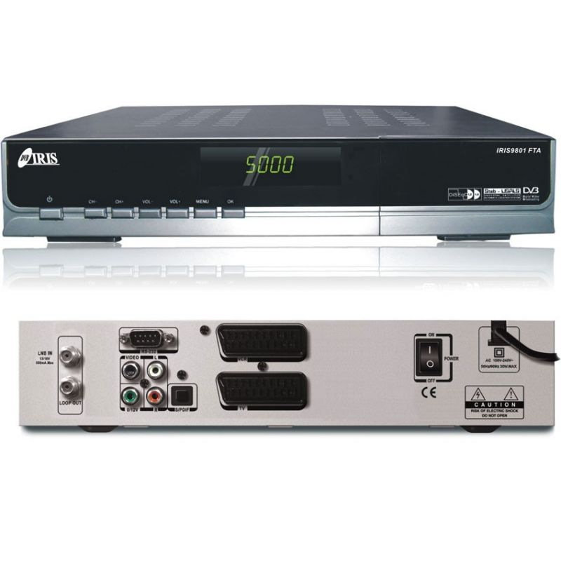 Iris 9801 COMBO SAT/TDT USB