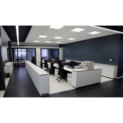 Panel Downlight LED 18W Redondo, para montaje exterior Premium. Blanco natural 4500K