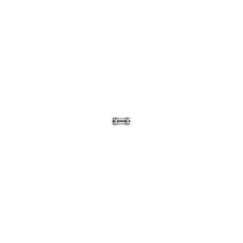 Empalmador Macho/Macho en conector F Triax
