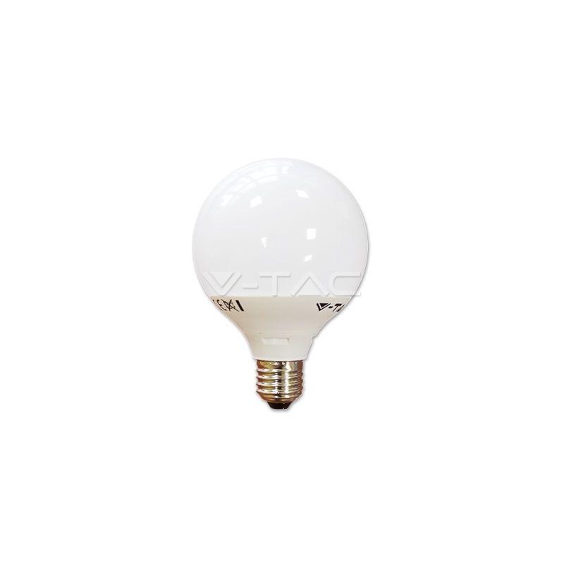 Bombilla LED 10W Е27 G95 Termoplastico Blanco natural 4000K V-TAC