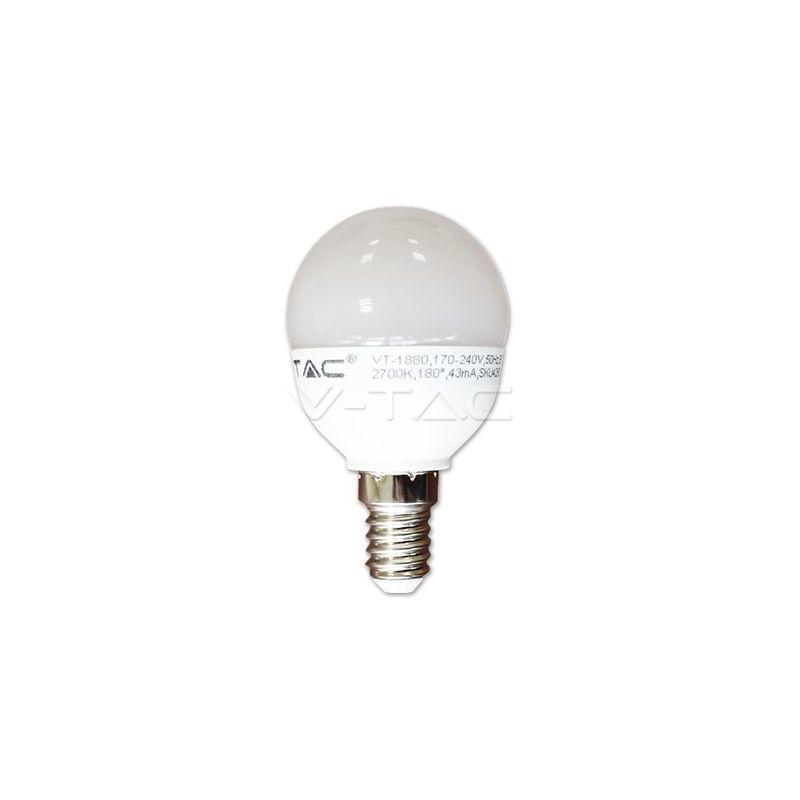 Bombilla LED 6W Е14 P45 Blanco natural 4500K V-TAC