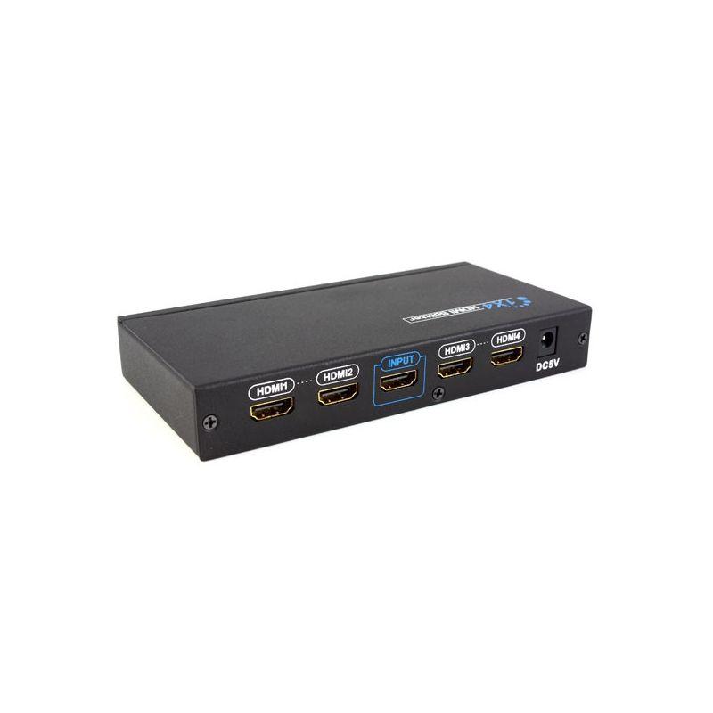 Distribuidor HDMI 1x4 (1 entrada 4 salidas) Shop+