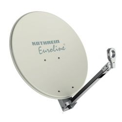 Antena parabólica Offset 65cm aluminio Profesional Kathrein KEA 650 W