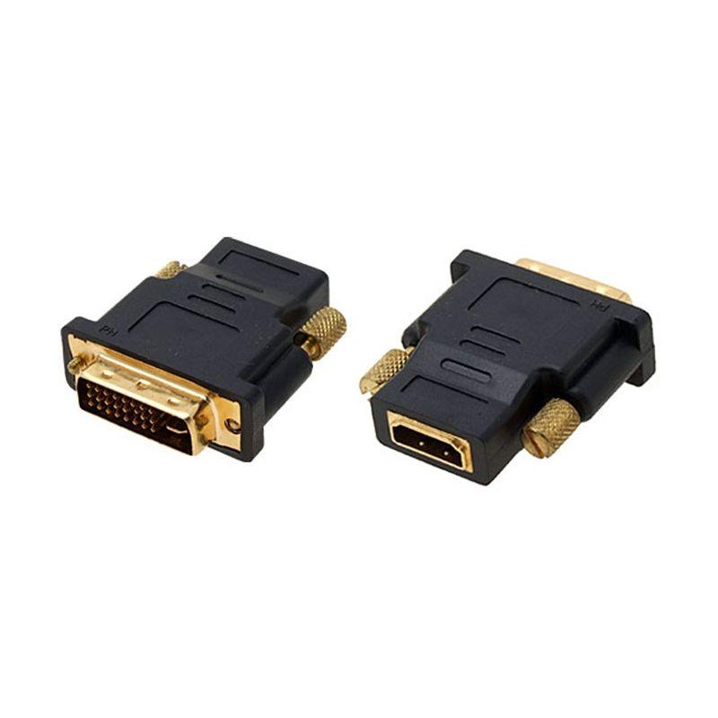 Conversor HDMI hembra a DVI macho Gold