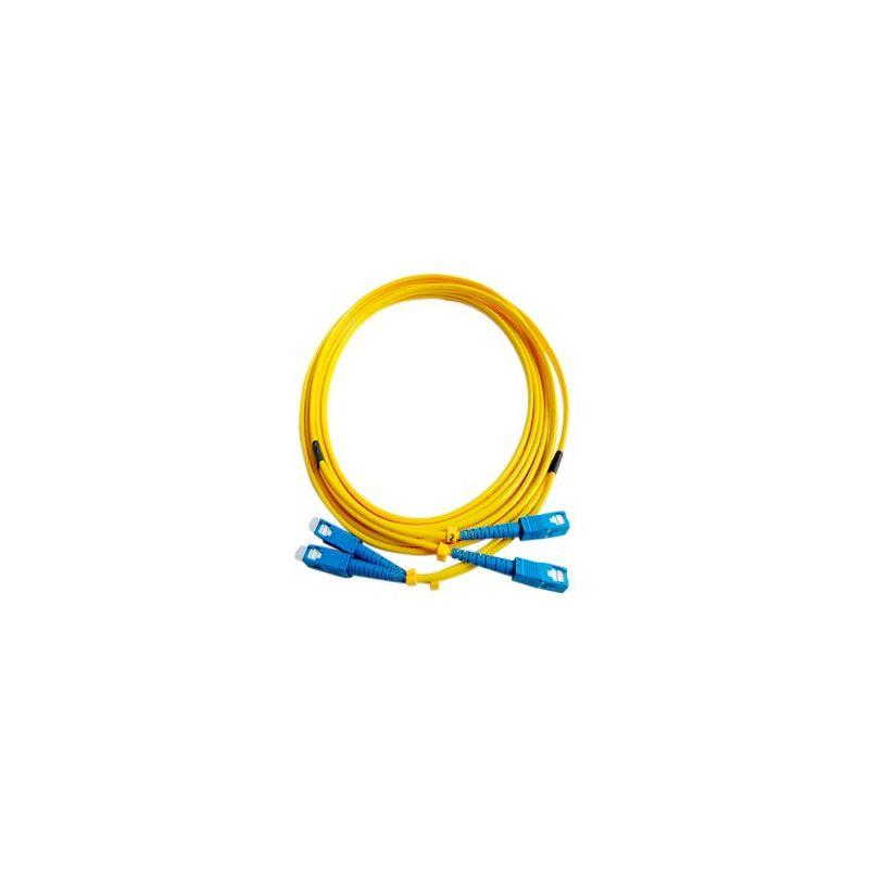 Fiber Optic Cable Duplex Single-Mode SC to SC 3 Meter