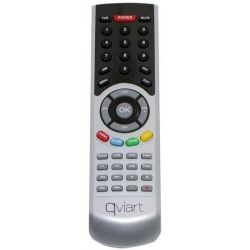 Universal remote control for Qviart UNIC, COMBO, COMBO 2, MINI