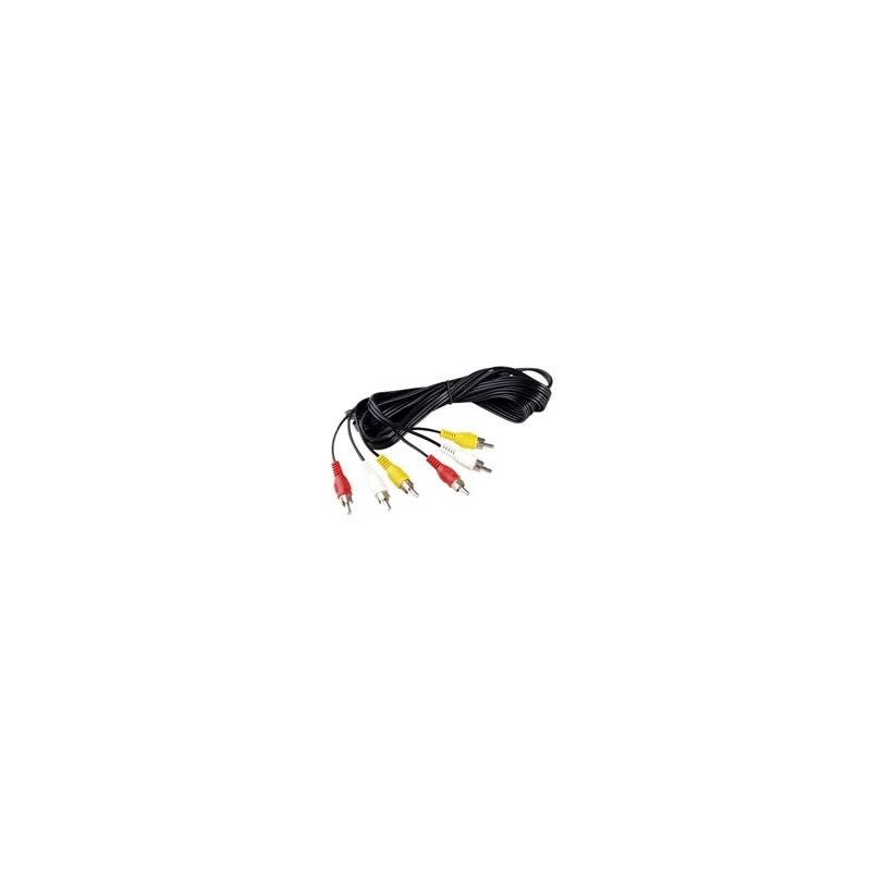 Cable Audio Video RCA 1,5m HD-O2