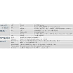 Koovik 4STREAMPro6-HDMI, Streamer IP profesional de 4 entradas HDMI