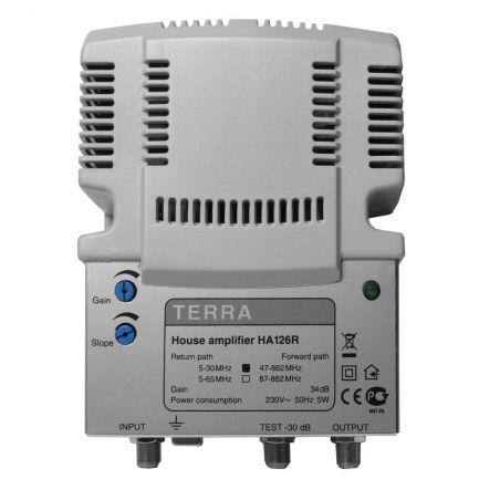 Amplificador Interior TDT/CABLE Terra 34 dB 2 salidas
