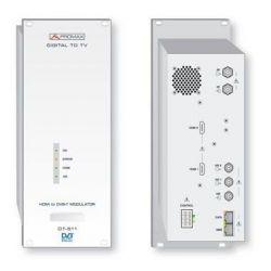 Modulador TDT COFDM Promax DT-511-02 Encoder DVB H.264