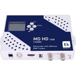 Modulador digital HD Ekselans COFDM + USB