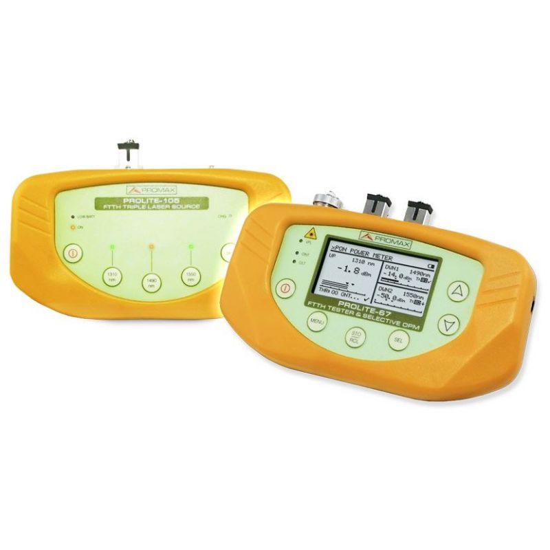 PL-675: Kit basique de mesure pour fibre optique