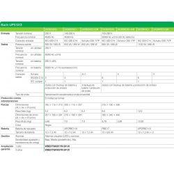 Schneider SAI BACK-UPS SX31K1CI 1100VA 660W