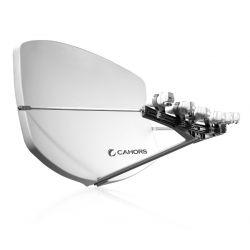 CAHORS BIG BISAT: Antena multisatélite