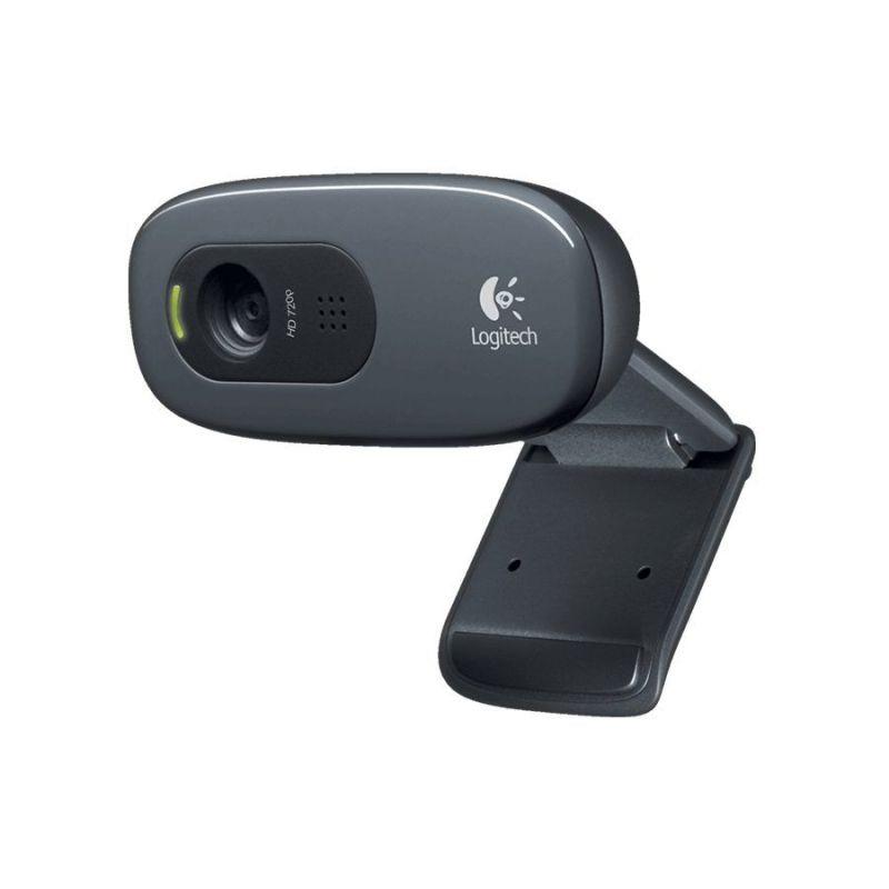 Webcam Logitech Compatible con Mygica Smart tv 3 Mpx con audio/video