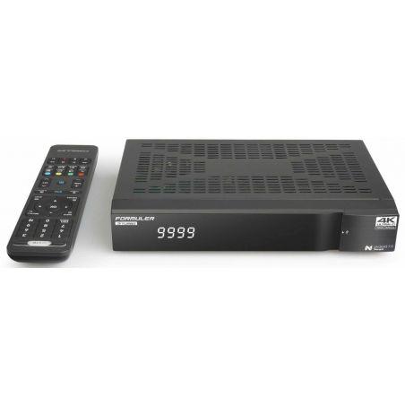 Formuler S Turbo Receptor de satélite e IPTV 4K UHD H265