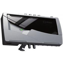 Ikusi NBS-801: Central amplificadora multibanda blindada 1 entrada 1 salida 42 dB