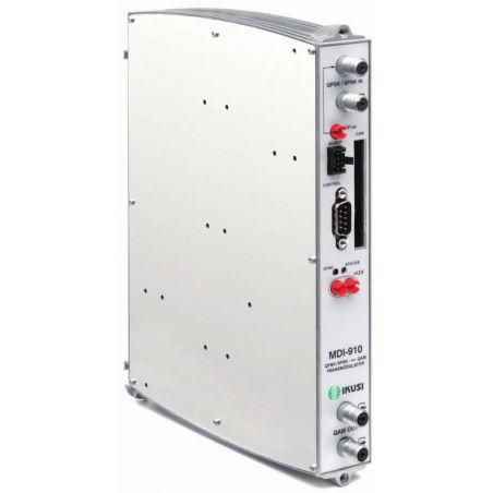 Ikusi MDI-910: Transmodulator DVB-S/S2 to DVB-C. Common Interface
