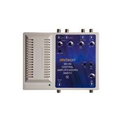 Central Amplificadora Tecatel 35db con filtro LTE/4G