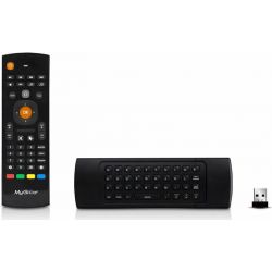 Mygica KR301 Mando Wireless Flymouse con teclado Qwerty con funcion Mouse 2.4Ghz