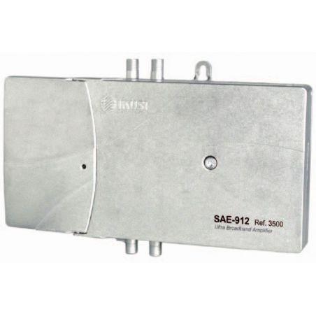 Ikusi SAE-912: Amplificador de extensión Terr:118dBμV Sat:120dBμV