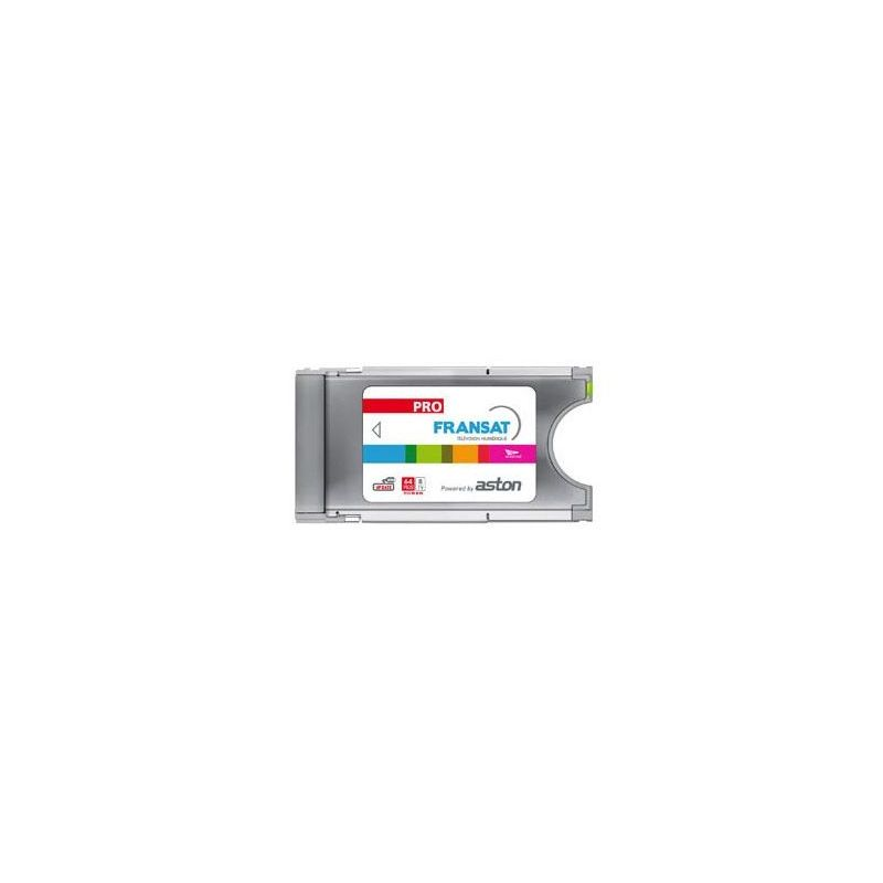 CAM PCMCIA Profesional Aston secure Viacces. 16 Canales 64 Pids